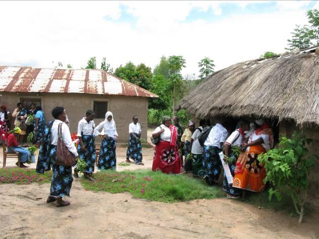 Women's Day gathering in Tanzania. Photo courtesy of D. Ceplis.